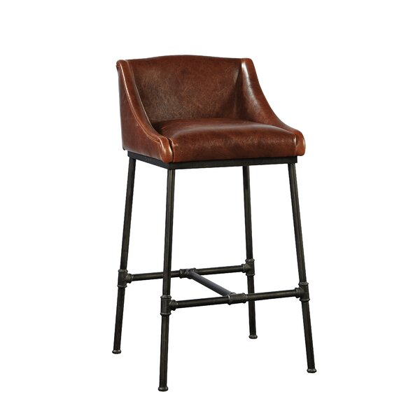 Pipe Iron Bar Stool by Furniture Classics