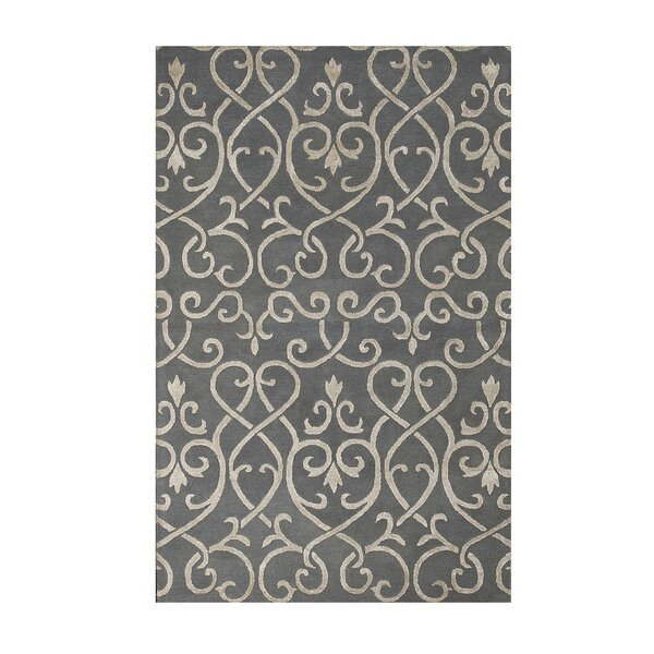 Brightwood Stone Blue Area Rug by House of Hampton