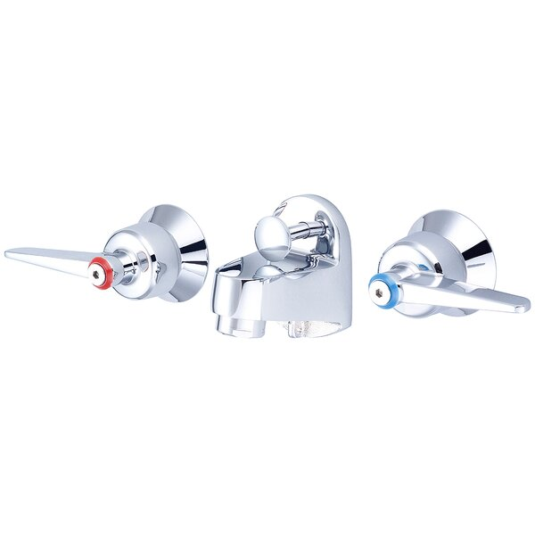 Wall Mount Bathroom Faucet with Drain Assembly