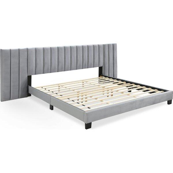 Mccaskill Gramercy Channel Tufted  Upholstered Platform Bed by Rosdorf Park