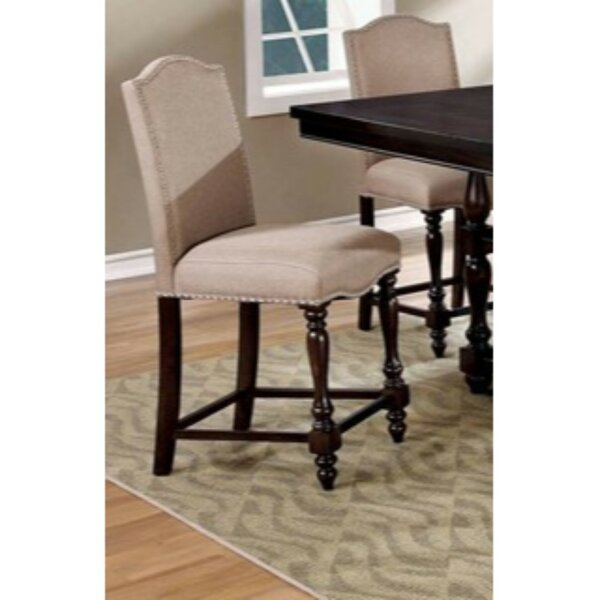 Kaan Padded Upholstered Dining Chair (Set of 2) by Alcott Hill