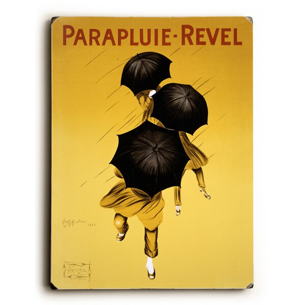 Cappiello Parapluie Umbrella Vintage Advertisement by Artehouse LLC