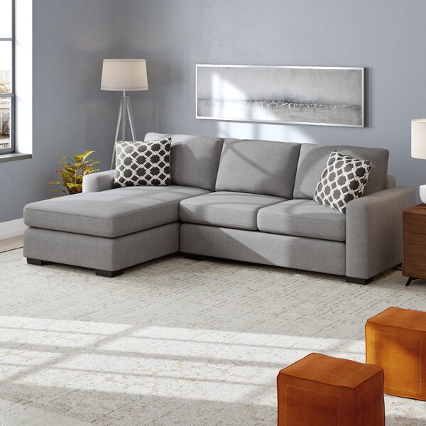 Woods Hole Reversible Sleeper Sectional By Ivy Bronx