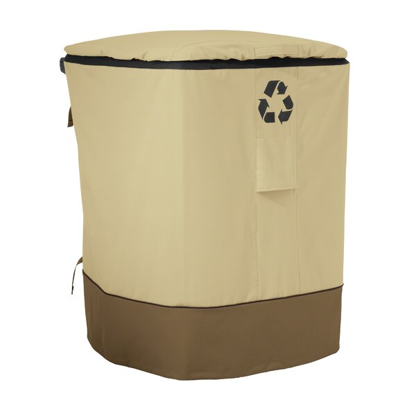 Mckinnis Recycling Cart Cover - Fit up to 29 by Red Barrel Studio