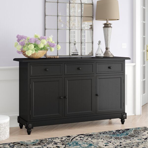 Leonard 3 Drawer 3 Door Accent Cabinet by August Grove