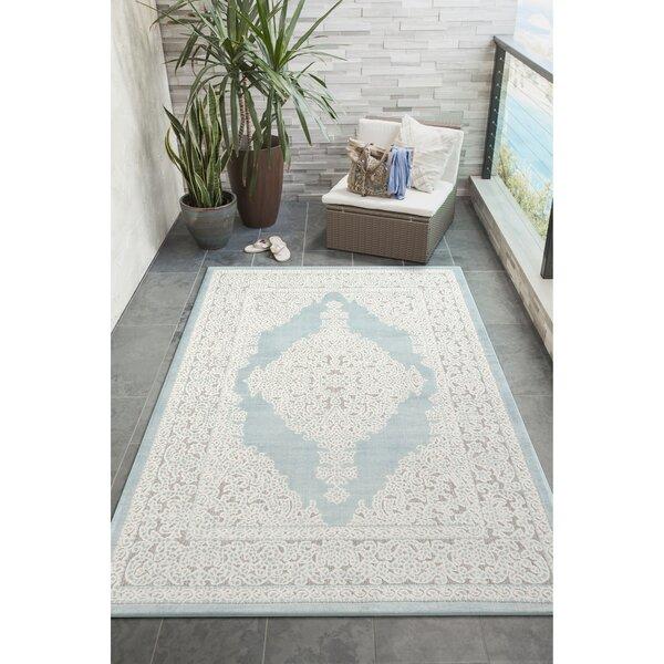 Wilhoit Oriental Beige Indoor / Outdoor Area Rug