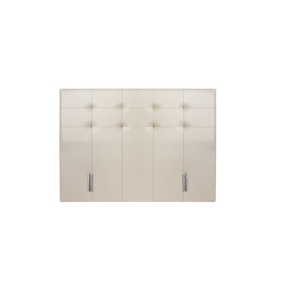 Lubin Queen Upholstered Panel Headboard by Orren Ellis