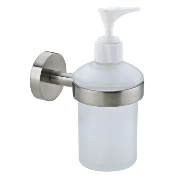 Moon Soap Dispenser by no drilling required
