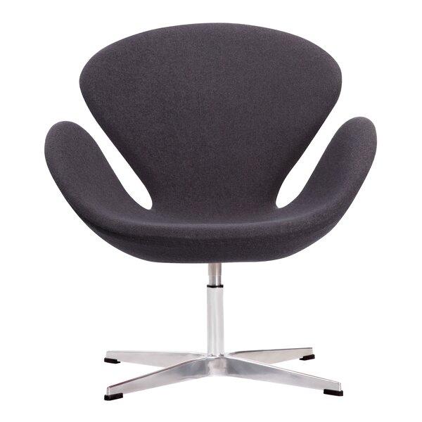 Crux Swivel Lounge Chair by Edgemod