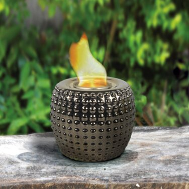 Dot Tabletop Fireplace by OutDoozie