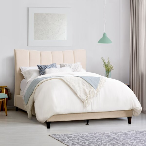 Brodeur Upholstered Standard Bed by House of Hampton