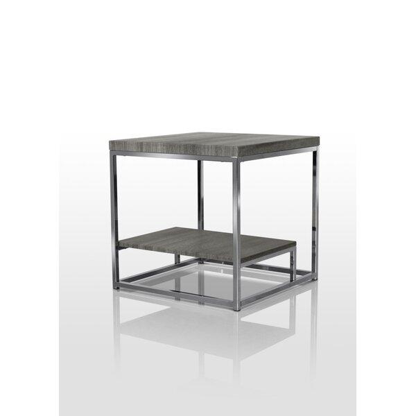 Shultis End Table by Orren Ellis
