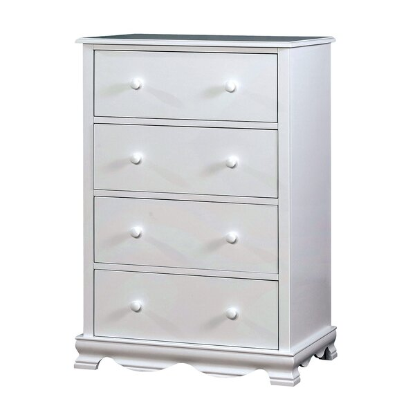 Ricky Contemporary 4 Drawer Chest by Alcott Hill