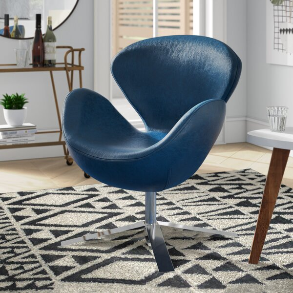 Leddy Swivel Armchair by Brayden Studio