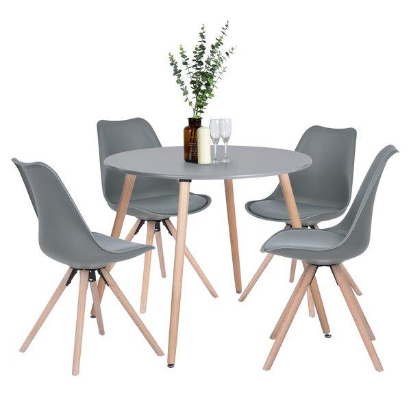 Mehmud 5 Piece Dining Set by Ebern Designs Ebern Designs