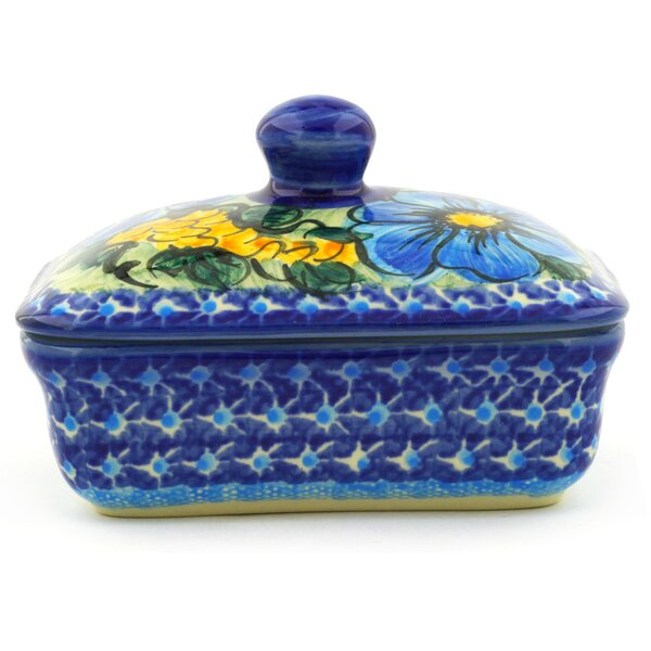 Corn Butter Dish by Polmedia