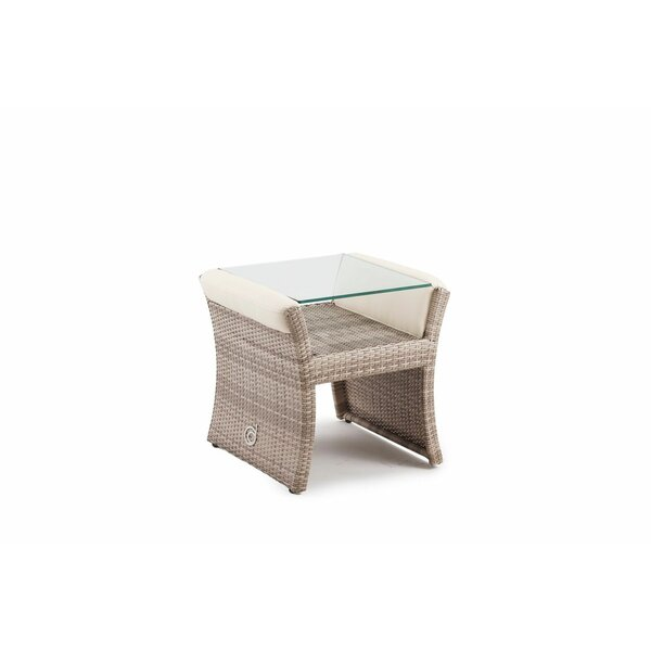 Sheri Glass Side Table by Canora Grey Canora Grey