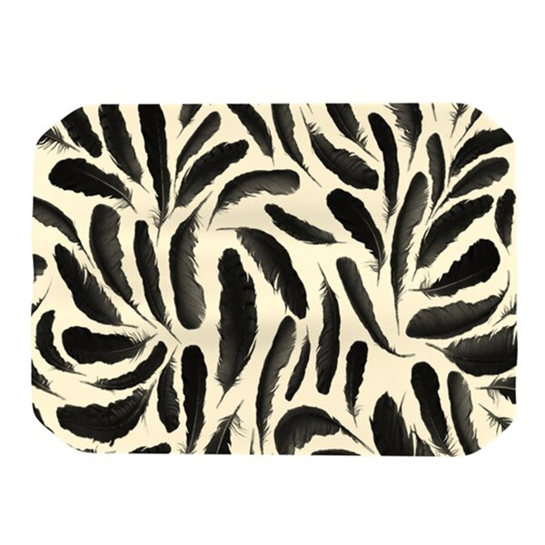 Feather Pattern Placemat by KESS InHouse