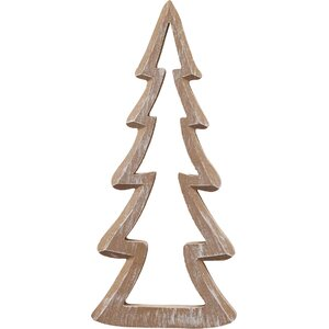Wood Cutout Tree Tabletopper