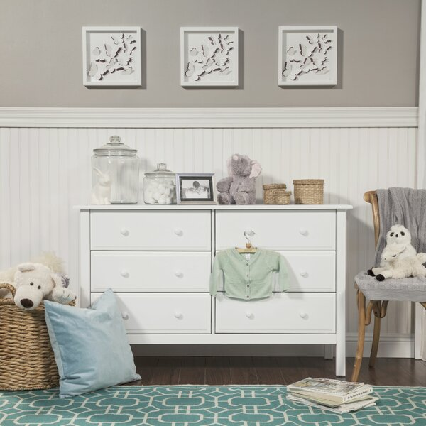 Jayden 6 Drawer Double Dresser By DaVinci by DaVinci No Copoun