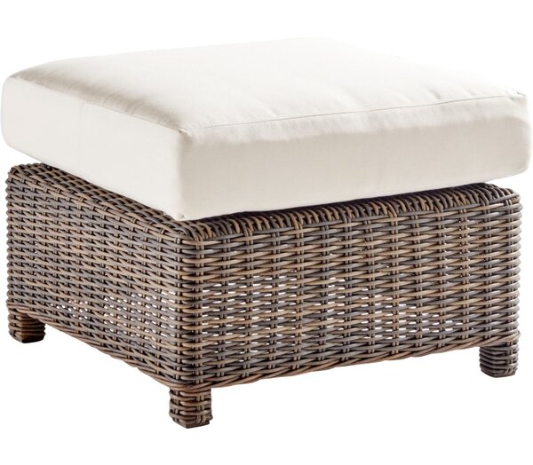 Fannin Outdoor Ottoman with Cushion by Darby Home Co