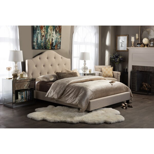 Upholstered Platform Bed by Wholesale Interiors