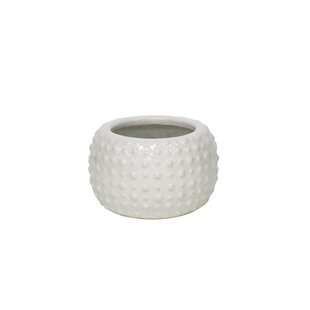 Lavinia White Decorative Ceramic Pot Planter