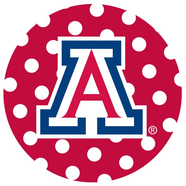 University of Arizona Dots Collegiate Coaster (Set of 4) by Thirstystone