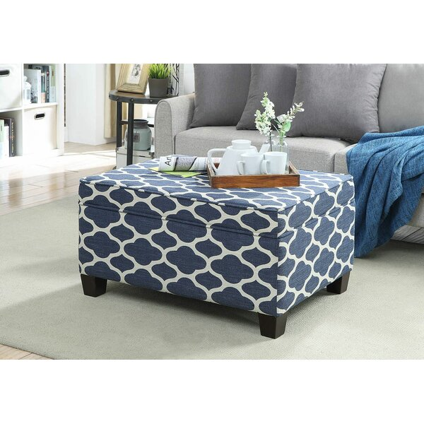 Middlewich Upholstered Flip Top Storage Bench by Canora Grey