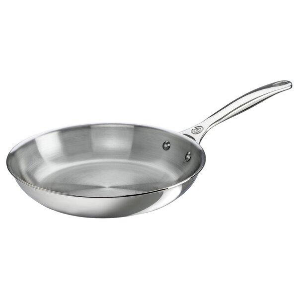 Le Creuset Stainless Steel Frying Pan Lec3238 Onsales