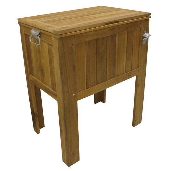 56 Qt. Sequoia Slatted Country Cooler by Leigh Cou