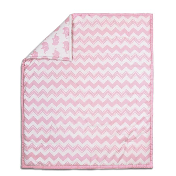 Chevron Cotton Quilt by The Peanut Shell
