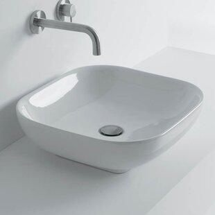 Buying Ciotola Square Vessel Bathroom Sink ByWS Bath Collections