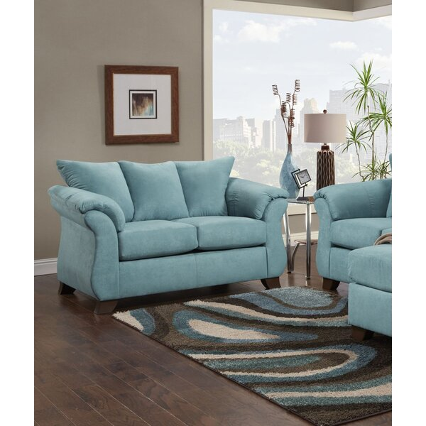 Luxury Brands Brayton Loveseat by Alcott Hill by Alcott Hill