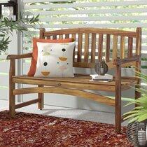 36 Inch Outdoor Bench | Wayfair