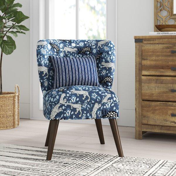 Casandra Slipper Chair by Mistana
