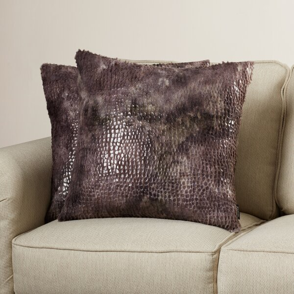 Tidissi Throw Pillow (Set of 2) by Bungalow Rose