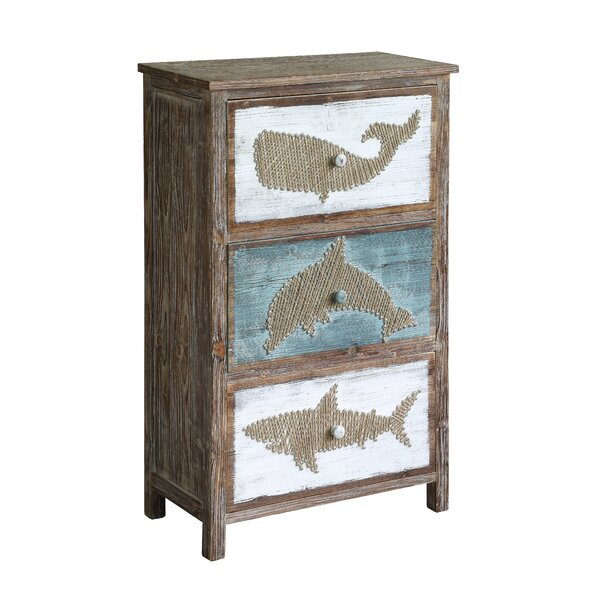 Forbes Rustic Shark Accent Chest