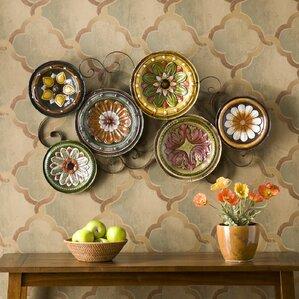 Wall Decor Plates metal wall art - wall décor | wayfair