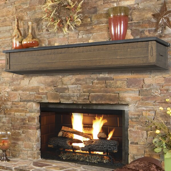 Austin 2 Drawer Fireplace Shelf Mantel by Pearl Mantels