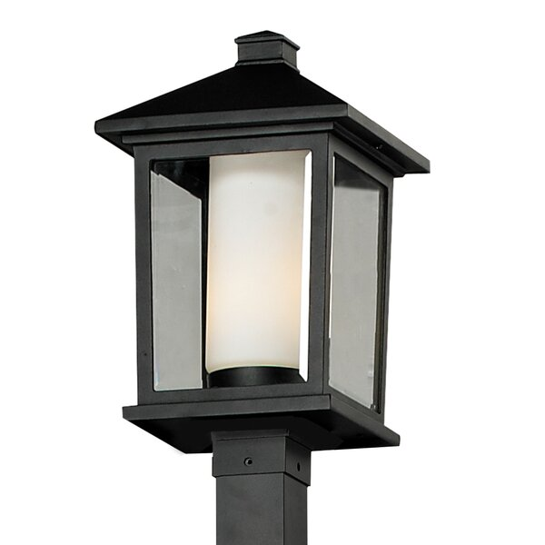 Olive Outdoor 1-Light Post Light by Andover Mills