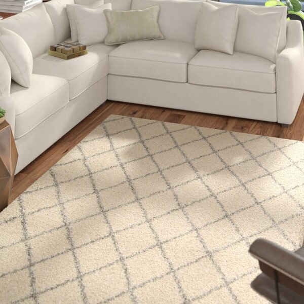Neptune Cream Area Rug by Mercury Row