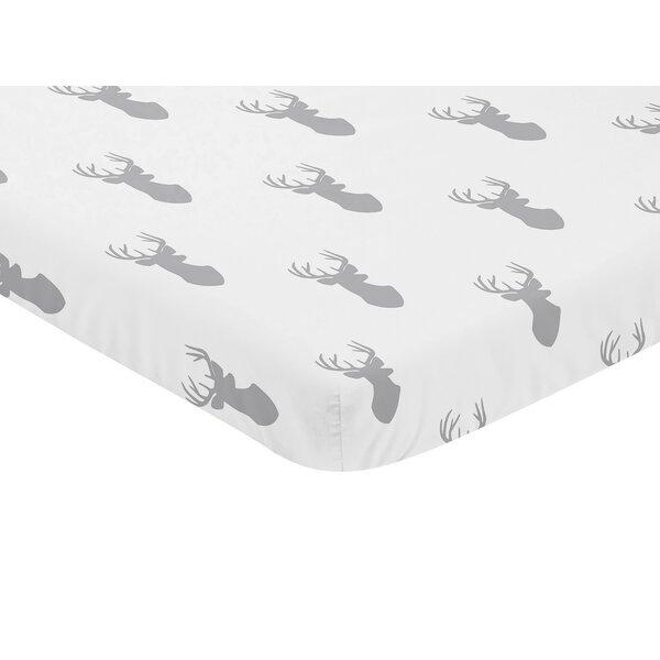 Woodland Deer Fitted Crib Sheet by Sweet Jojo Designs