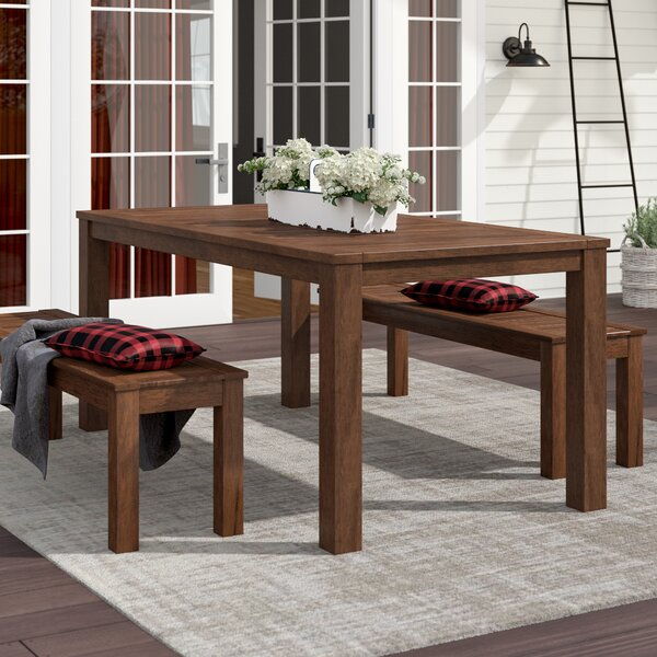 Rockefeller Solid Wood Dining Table By Laurel Foundry Modern Farmhouse by Laurel Foundry Modern Farmhouse Read Reviews