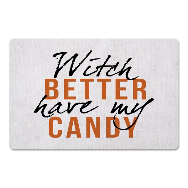 Frittelli Witch Better Have My Candy Kitchen Mat