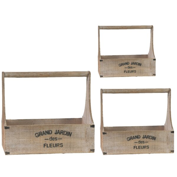 Patchen 3 Piece Planter Box by Gracie Oaks