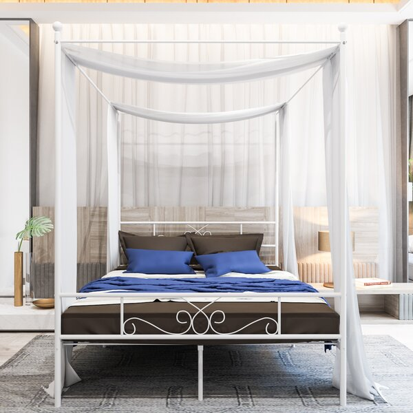 Turkay Canopy Bed By Red Barrel Studio