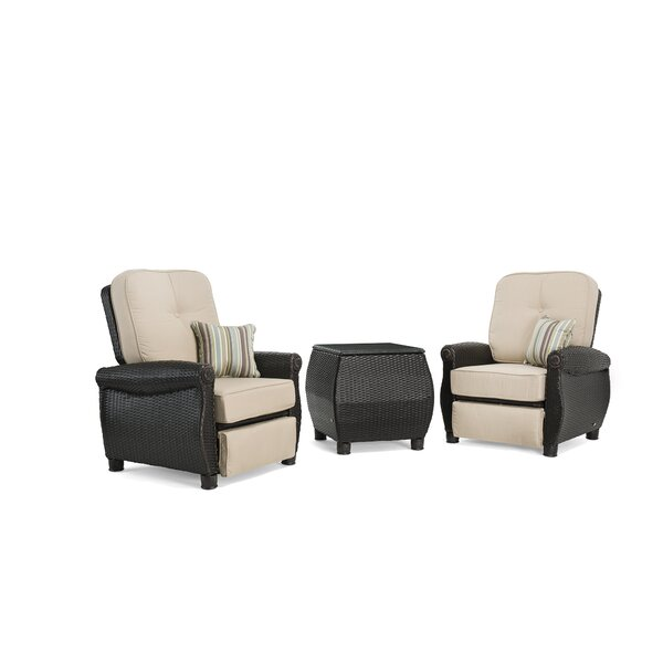 Breckenridge 3 Piece Manual Recliner By La-Z-Boy