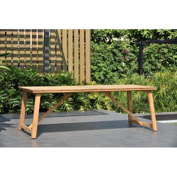 Darrah Solid Wood Dining Table by Brayden Studio