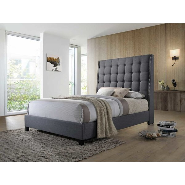 Deitch Upholstered Standard Bed by Brayden Studio